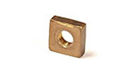 1/4 SQUARE NUT ZINC PLATED