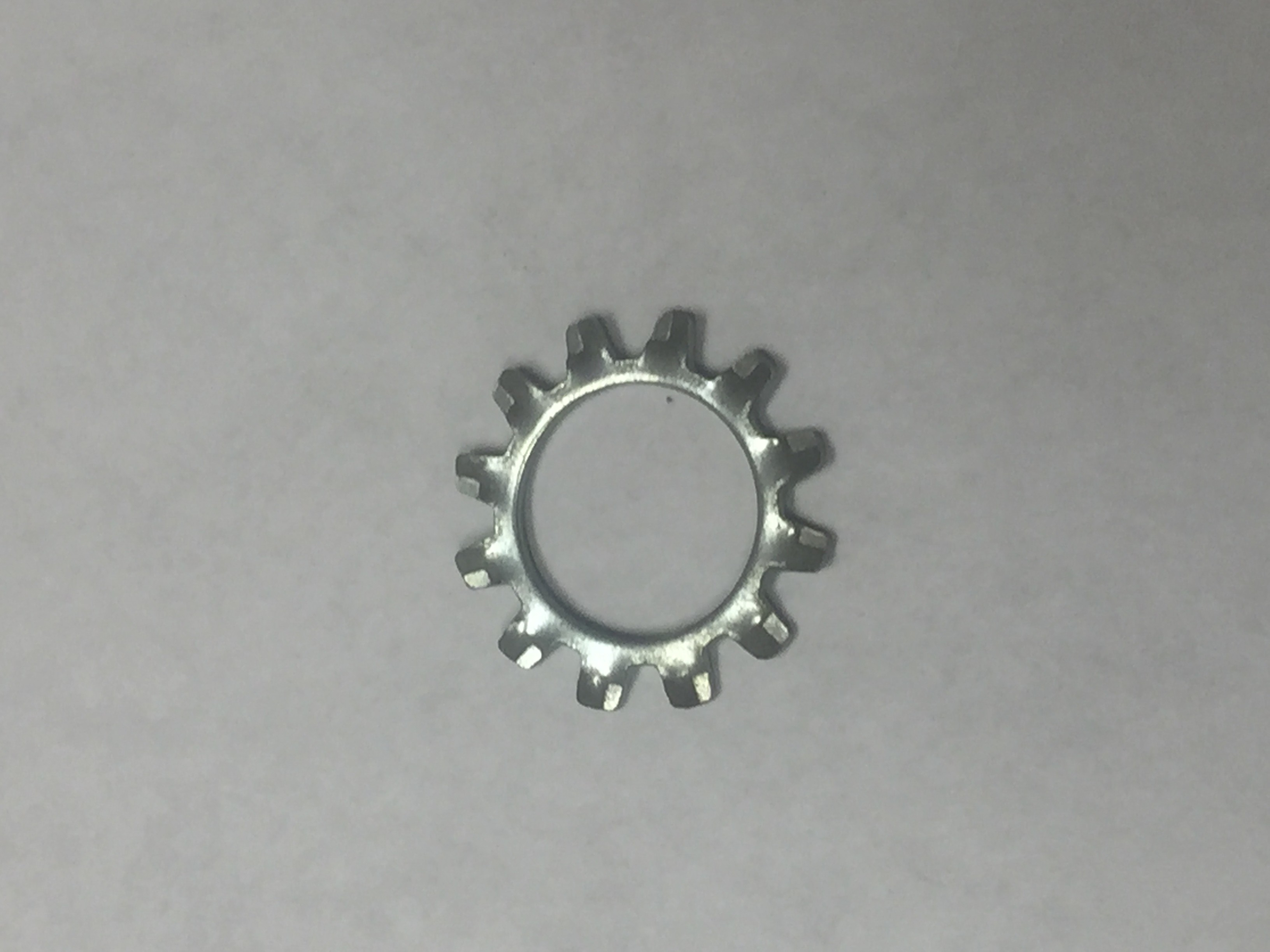 3/8 410 STAINLESS STEEL EXTERNAL  TOOTH LOCKWASHER
