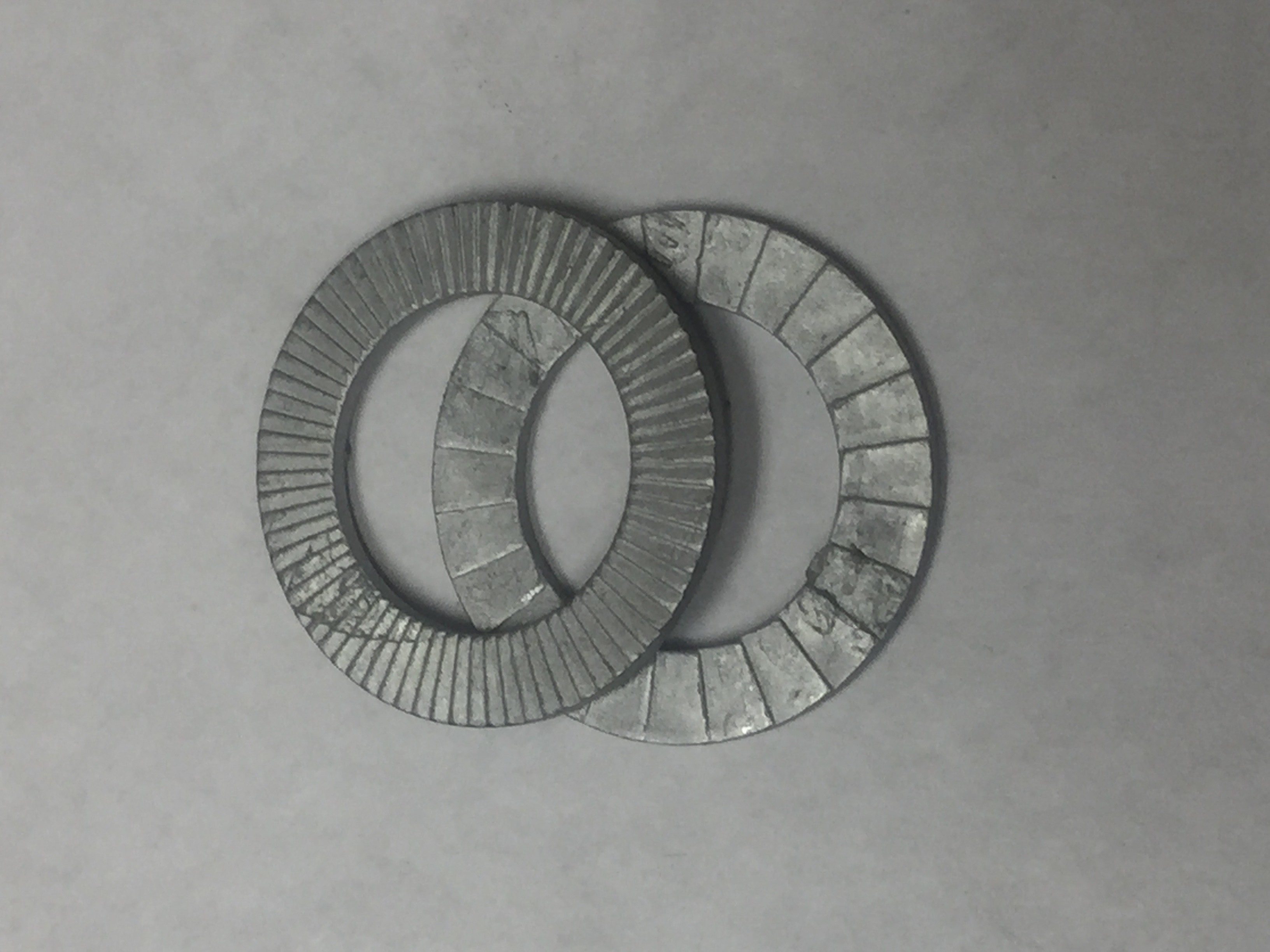 1/4 ZINC PLATED NORD-LOCK WASHER