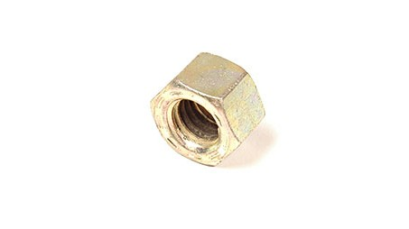 9/16-12 L9 HEX NUTS YELLOW CAD