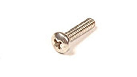 1/4-20 X 2 18-8 STAINLESS STEEL SLOTTED PAN HEAD MACHINE SCREW