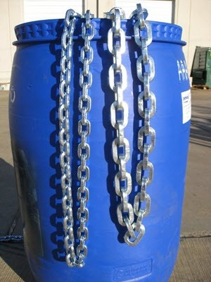 """9/32"""" (7mm) Zinc Plated Security Chain"""