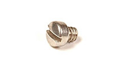 6/32 X 1/2 18-8 STAINLESS STEEL SLOTTED FILLISTER HEAD MACHINE SCREW