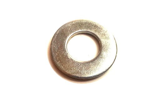 1/4 USS FLAT WASHER BLACK