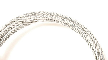 7/16 6 X 25 FIBER CORE IPS WIRE ROPE GALVANIZED