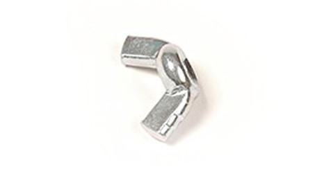 6-32 WING NUT ZINC PLATED